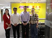 鼎芯与韩国三星配套商ODT公司客户洽谈合作事项