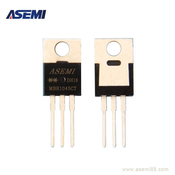 肖特基二极管MBR1045CT,ASEMI品牌