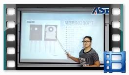 MBR60200PT 大功率肖特基二极管 视频详解 看完收获满满的