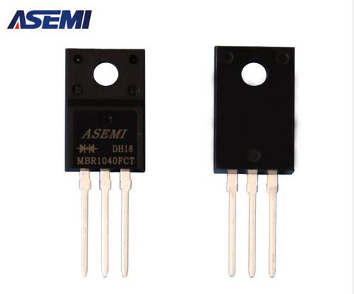 ASEMI品牌MBR1040FCT为何能成为海尔海信专用适配器整流元器件?