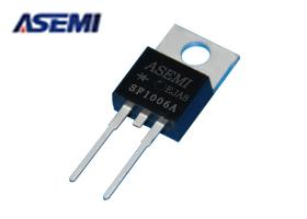 SF1006A ASEMI低压降快恢复二极管